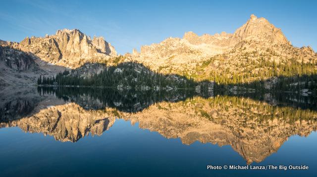 Baron Lake, in Idaho's Sawtooth Mountains.
