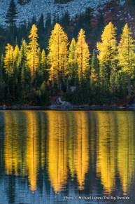 Rainbow Lake, Lake Chelan National Recreation Area.
