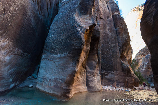 Day one in Zion's Narrows.