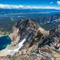 Summit of Thompson Peak, Sawtooth Mountains, Idaho.