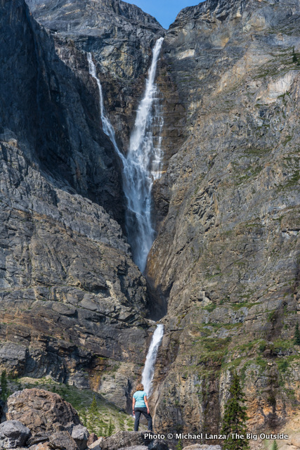 Helmet Falls, Rockwall Trail, Kootenay National Park.
