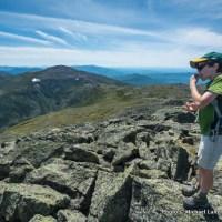 Nate on Mount Adams.
