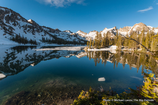 Alice Lake, Sawtooth Mountains, Idaho.