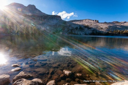 May Lake in Yosemite.