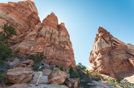 Chesler Park Trail, Needles District, Canyonlands National Park.