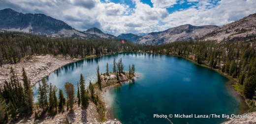 Heart Lake, Sawtooth Mountains, Idaho.