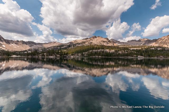 Imogene Lake, Sawtooth Mountains, Idaho.