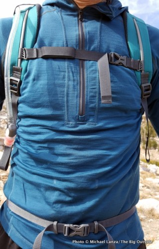 Deuter Speed Lite 20 harness.