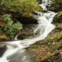 Roaring Fork Falls, off the Blue Ridge Parkway.