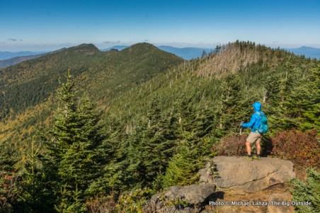 Black Mountain Crest Trail, Mount Mitchell.