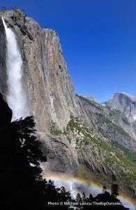 Upper Yosemite Falls, Yosemite National Park.