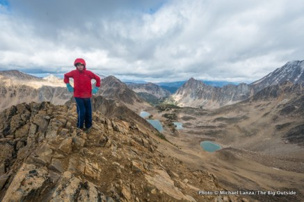 Atop Patterson Peak.