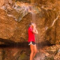 Rippling Brook waterfall, Lodore Canyon.