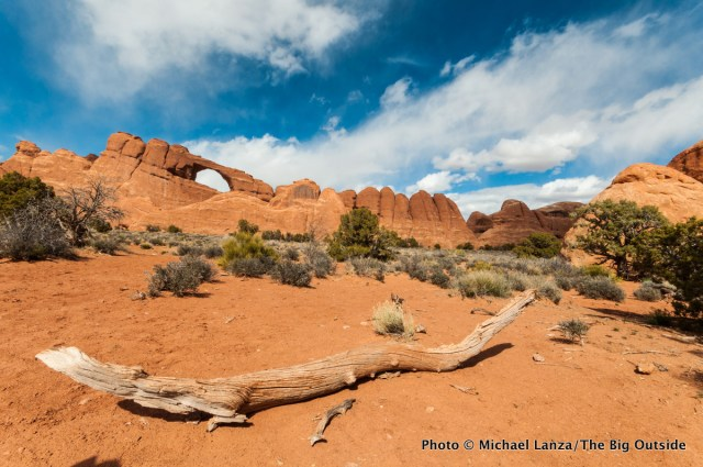Skyline Arch, Arches National Park.