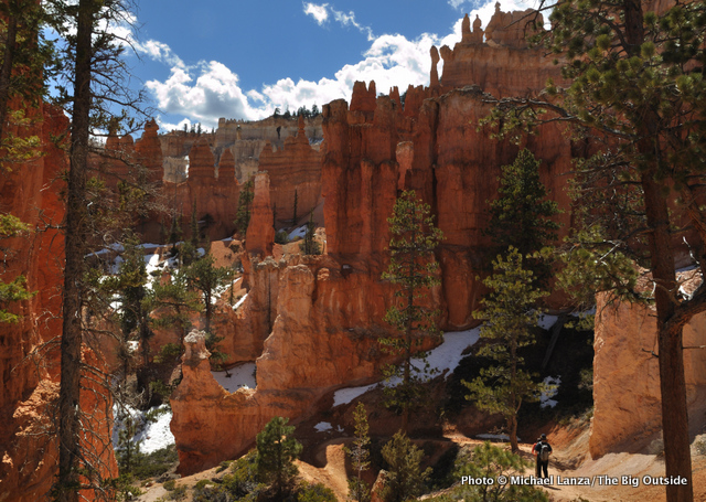 Hiking the Peek-a-Boo Loop, Bryce Canyon National Park.