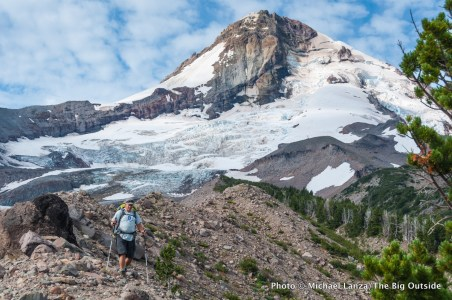 Timberline Trail, Mount Hood, Oregon.