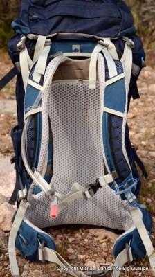 Osprey Stratos 50 harness.