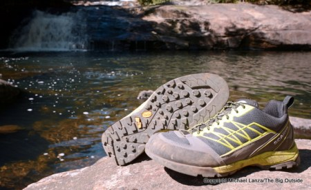 Scarpa Epic Lite shoes.