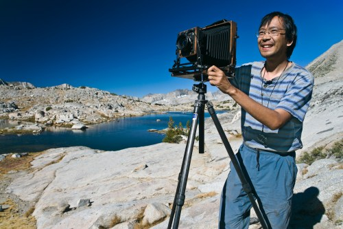 QT Luong in Dusy Basin, Kings Canyon National Park.