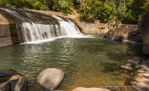 Turtleback Falls, Gorges State Park and Nantahala National Forest, N.C.