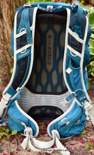 Osprey Talon 22 harness.