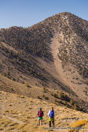Hiking Telescope Peak in Death Valley National Park.