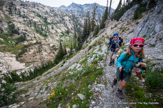 Backpacking to Hawkins Pass, Eagle Cap Wilderness, Oregon.