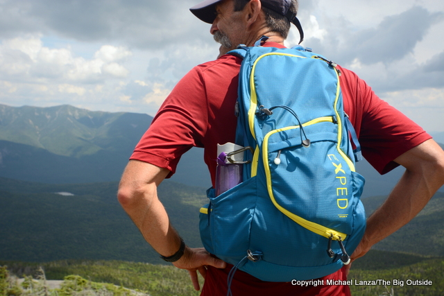 Exped Skyline 15 daypack in New Hampshire's White Mountains.