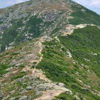 Franconia Ridge on a past hike, White Mountains, N.H.