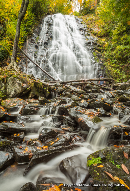 Crabtree Falls, in the Pisgah National Forest.