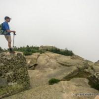 Mount Garfield summit, Garfield Ridge Trail, White Mountains, N.H.