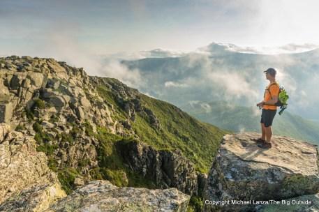 David Ports on Bondcliff, White Mountains, N.H.