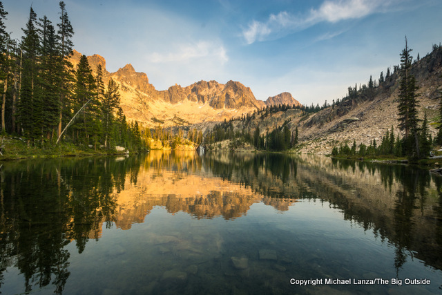 Middle Cramer Lake, Sawtooth Mountains, Idaho.