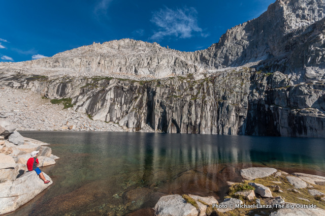 Precipice Lake, Sequoia National Park.