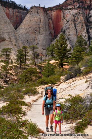 Backpacking Zion's West Rim Trail.