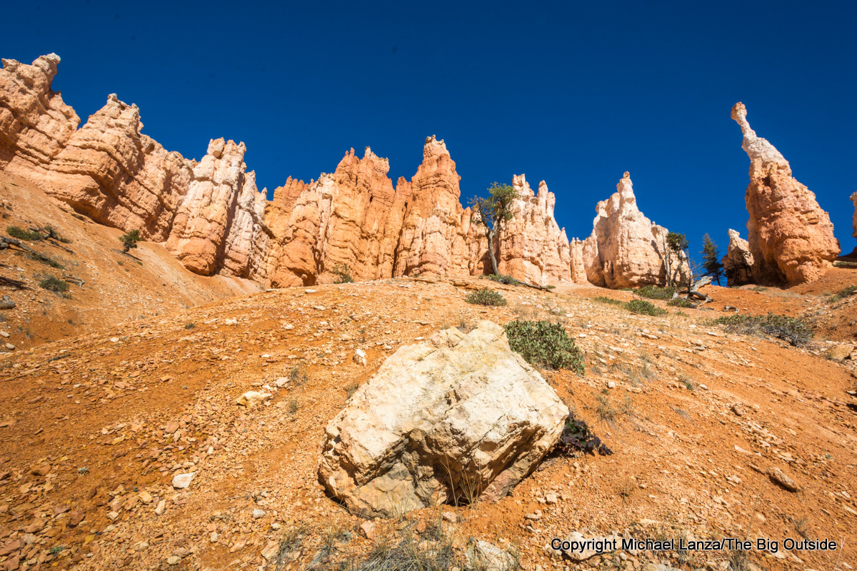 Along the Peekaboo Loop in Bryce Canyon National Park.