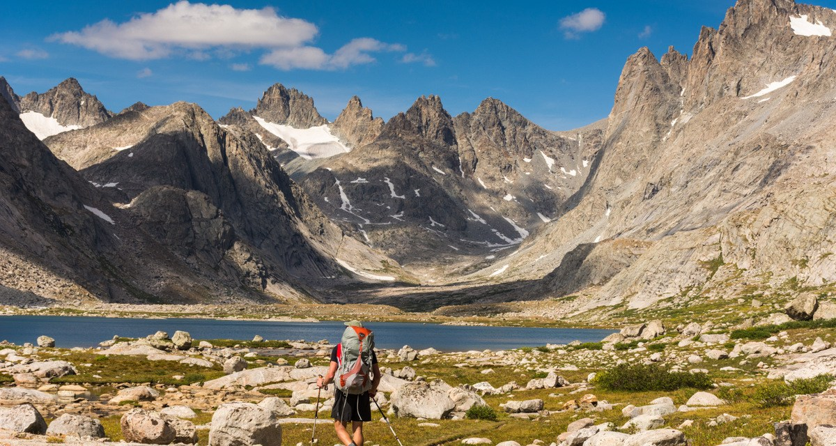 3-Minute Read: Backpacking to Titcomb Basin, Wind River Range