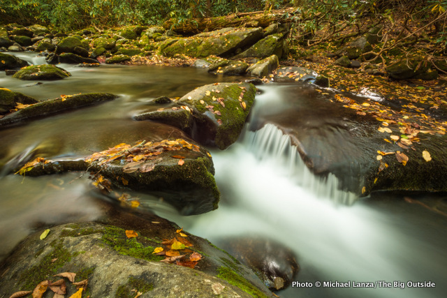 Noland Creek in Great Smoky Mountains National Park.