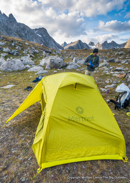 & Gear Review: Marmot Tungsten UL 2P Backpacking Tent | The Big Outside