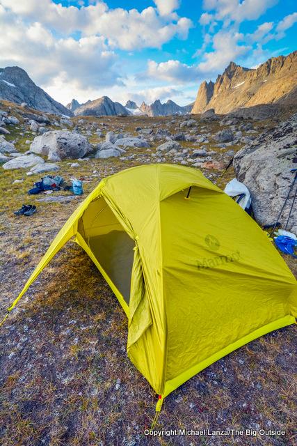 Marmot Tungsten UL 2P tent.