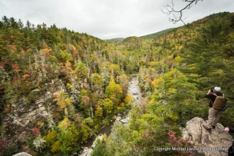 Linville Gorge, Pisgah National Forest.