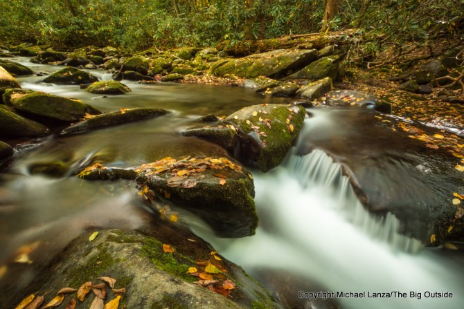 Noland Creek in Great Smoky Mountains National Park, N.C.