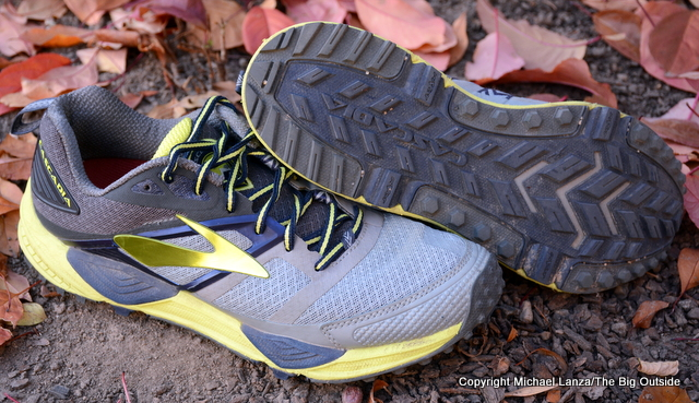 Brooks Cascadia 12 trail-running shoes.
