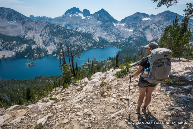 Above Toxaway Lake in Idaho's Sawtooth Mountains.