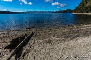 Lake Manapouri, along the Kepler Track, Fiordland National Park.
