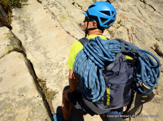 Patagonia Linked Pack 16L climbing pack.