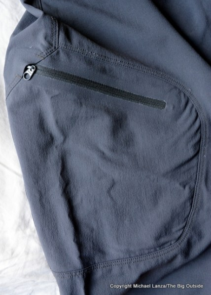 Westcomb Recon Cargo Pant thigh pocket.
