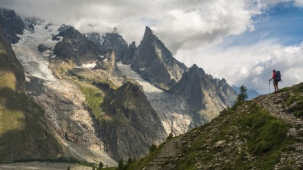 Hiking the Tour du Mont Blanc at an 80-Year-Old Snail's Pace