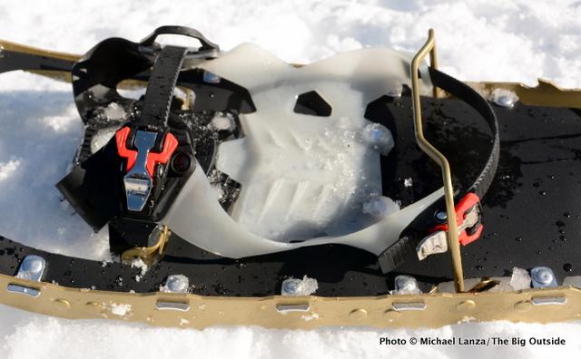 MSR Lightning Explore Snowshoes binding.