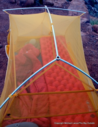 Big Agnes Tiger Wall UL 2 hubbed poles.